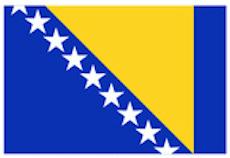 Bosnien Herzegowina Flagge