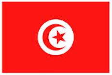 Tunesien Flagge