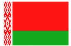 Weißrussland Flagge